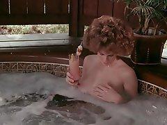 Hairy MILF Redhead Shower