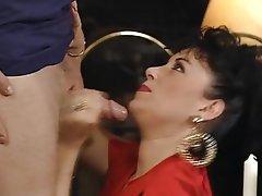 Anal Blowjob MILF Stockings Vintage