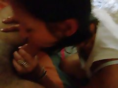 Amateur Babe Brunette Blowjob French