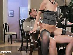 Anal Babe Blowjob Cumshot Panties