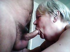 Amateur Blowjob British Granny