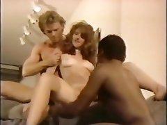 Bisexual Interracial Pornstar Threesome Vintage