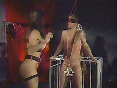 BDSM Blonde Brunette Femdom Threesome