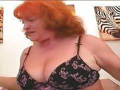 Big Boobs Granny Redhead
