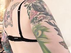 Amateur Babe Big Tits Casting Panties