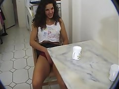 Amateur Brunette French Hairy