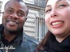 Amateur BBW Casting French Interracial