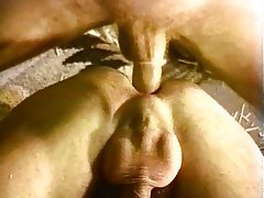 Anal Bisexual Hairy Facial Threesome