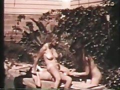 Hairy Lesbian Threesome Vintage