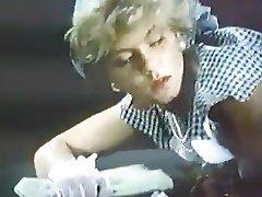 Babe Blonde Pantyhose Vintage