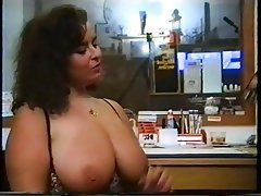 Big Boobs German Hairy MILF Stockings