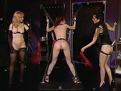 Lesbian BDSM Redhead Femdom MILF