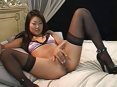 Masturbation POV Softcore Stockings