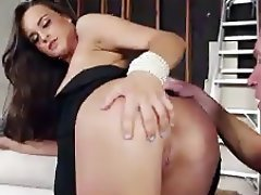 Babe Brunette Cumshot Hardcore