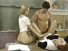 Cumshot Hardcore Pornstar Threesome Vintage