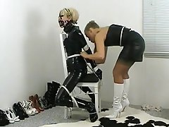 English milf bound and pussypounded