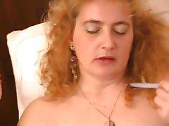 Mature Italian Masturbation MILF Stockings