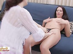 Black milf gets jizzed on
