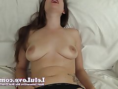 Amateur, Brunette, Close Up, Masturbation