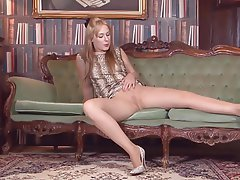 British Masturbation Mature Pantyhose
