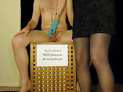 Amateur BDSM CFNM Femdom Handjob