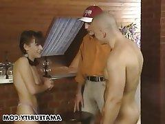 Amateur Blowjob Facial Teen Threesome