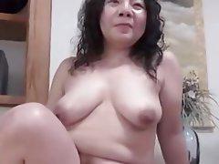 Creampie Japanese MILF BBW
