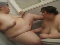 Asian BBW Big Boobs Japanese Lesbian
