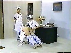 Femdom Handjob Medical Spanking