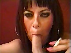 Blowjob Brunette Cumshot Femdom