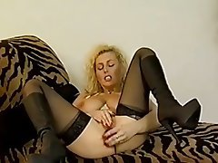 Blonde Casting German Pornstar