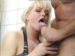 Blonde Cumshot
