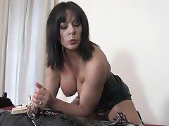 BDSM Cumshot Handjob