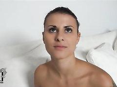 Amateur Babe Casting Ebony MILF