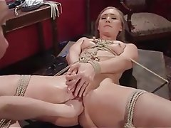 BDSM Blonde Bondage Hardcore Strapon