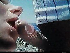 Blowjob Hairy Outdoor Vintage