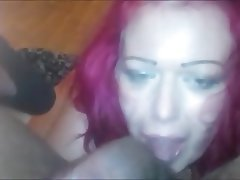 Amateur Big Boobs Blowjob Interracial Redhead