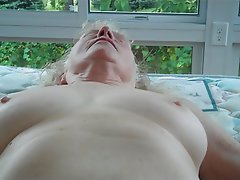 Amateur BBW Blonde Granny Mature