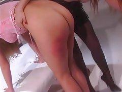 BDSM Lesbian Blonde Redhead Pantyhose