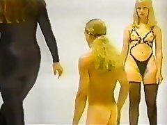 BDSM Femdom Spanking Stockings Vintage