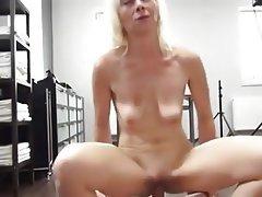 Milf with big black boob