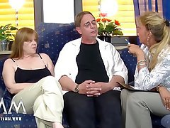 Amateur Cunnilingus German Mature Threesome