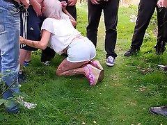 Swedish svensk granny visited by svensk gubbe