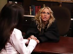 Babe Big Boobs Blonde Brunette Lesbian