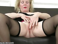 British Mature Granny MILF