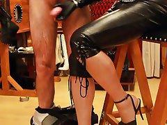 BDSM Femdom Spanish Foot Fetish