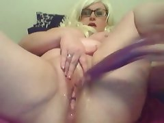 BBW Big Boobs Masturbation Squirt