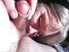 Amateur Blowjob Granny Mature POV