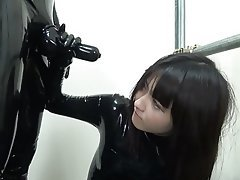 Asian Blowjob Bondage Japanese Latex