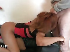 Amateur Babe French Old and Young